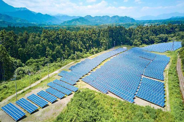 日光板桥太阳光发电站