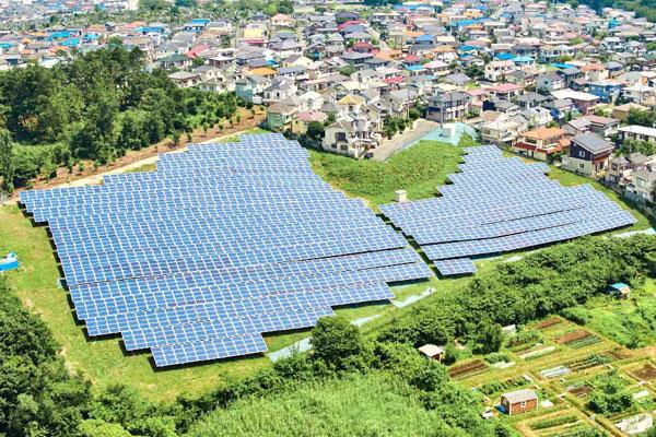 毛呂山太阳光发电站