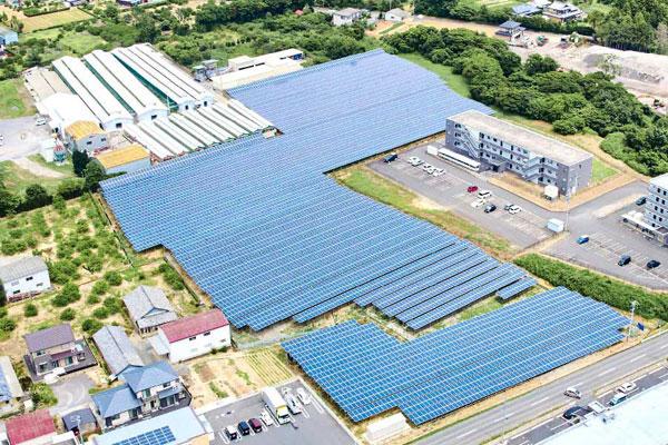 Fujiwara Tsu Solar Park #1