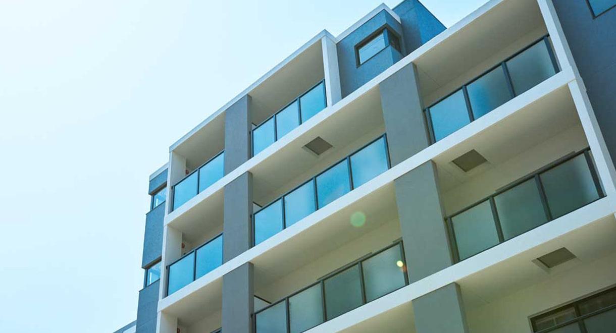 不動産投資事例(鉄筋コンクリート造の宿泊施設)の写真を用いた不動産のイメージ