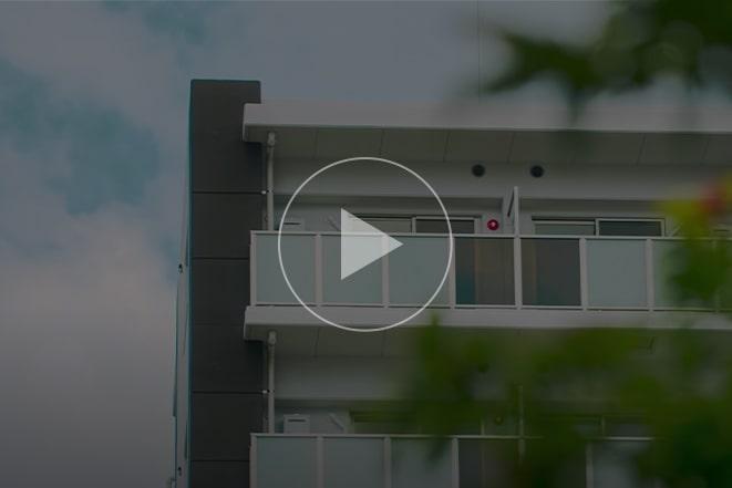 福岡市共同住宅プロジェクト「アレム吉塚」(Fukuoka City Apartment Project)のYoutubeサムネイルボタン